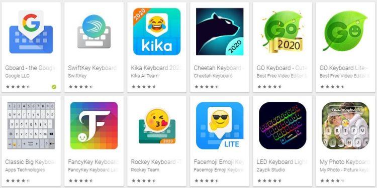 Aplikasi Keyboard Terbaik Android
