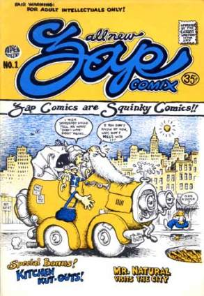 Zap Comix 1 by R. Crumb