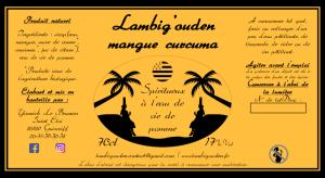 Lambig'ouden mangue curcuma