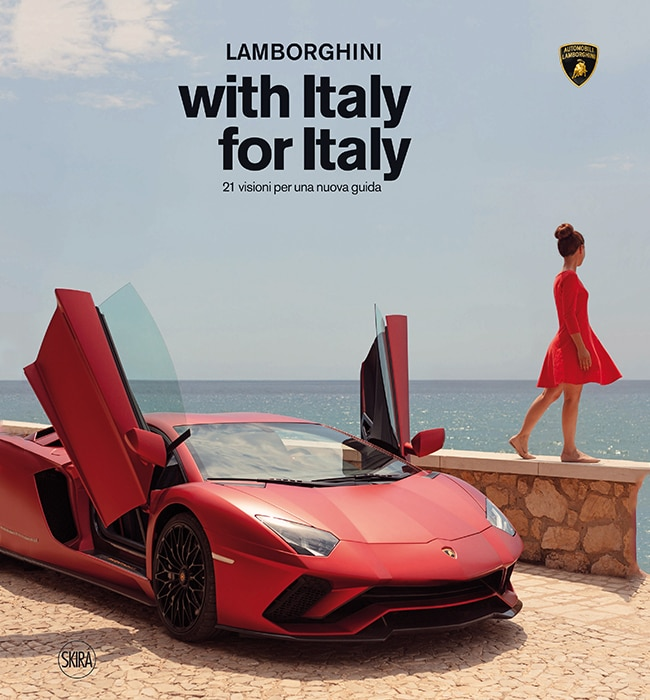 "Lamborghini's ""With Italy, For Italy"" project becomes a book"