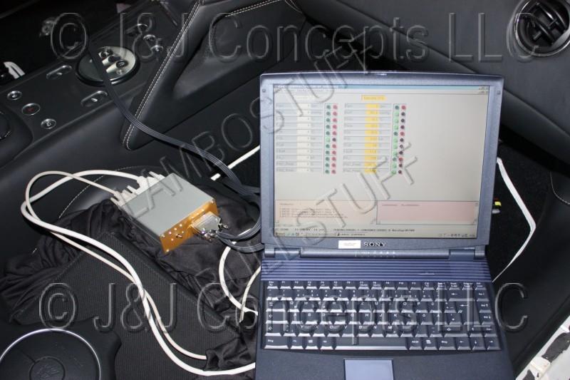 Lamborghini Diagnostic System