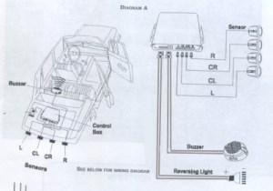 Ultarsonic Parking Assist System in a Gallardo
