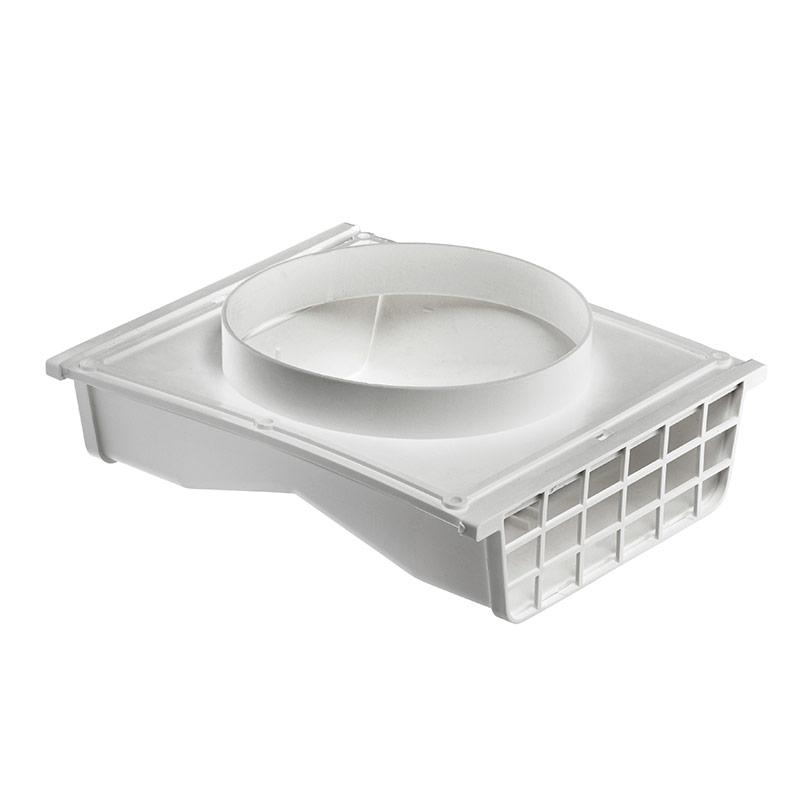 4 or 6 white plastic under eave vent