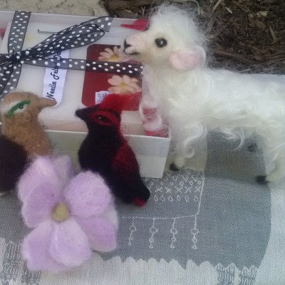 Learn to Needle Felt Flowers, Animals…: Apr. 13th