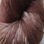 Rainbow Hand-dyed Prism Yarn - Chocolate Flax