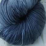 Superwash Sock Yarn- Silver Brunia