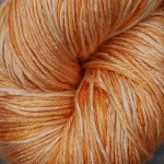 Hand-Dyed Silk/Merino -- Goldenrod