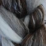 Merino/Silk Fiber - Pine Cone