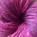 Hand-dyed Rainbow Prism - Purple French Tulip