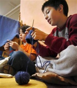 Kids' Learn To Knit : July 27