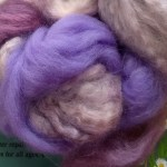 Merino/Silk Fiber - Lavender Honey