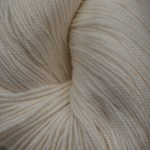 Superwash Sock Yarn - Phlox White