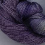 Hand-dyed 100% Silk  - Iris
