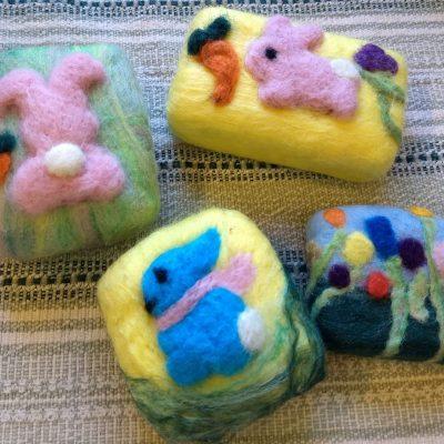 Lavender Felt Gift Soap : Dec 13th
