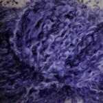 Hand-dyed Kid Silk Bouclé - Lavender Bouclé