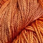 Hand-dyed Rainbow Prism - Orange Calendula