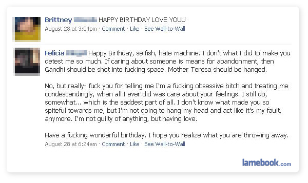 Lamebook Funny Facebook Statuses Fails Lols And More The Original Happy Birthday