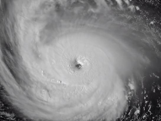 "El tamaño del huracán Florence es ""asombroso"", advirtió el director del Centro Nacional de Huracanes (NHC, en inglés), Ken Graham"