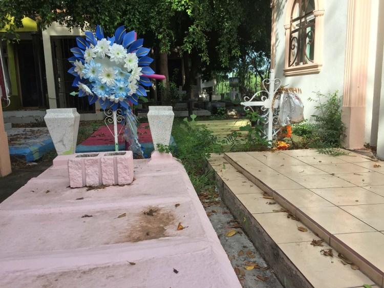La tumba puede mejorarse si la familia tiene los recursos