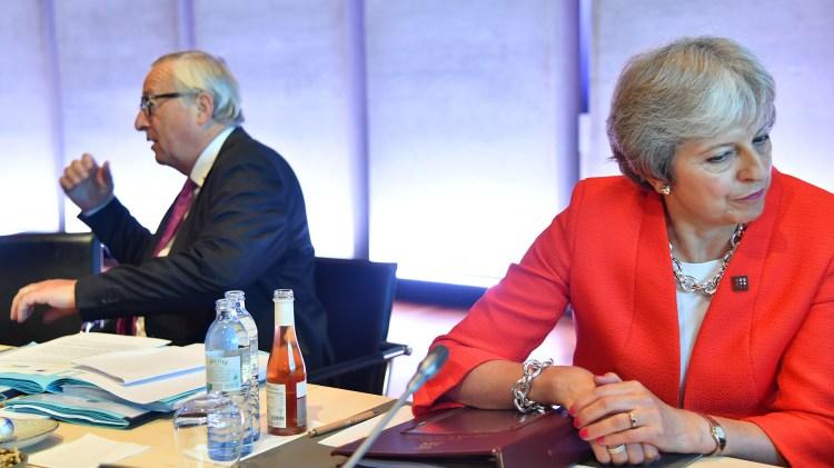 La cumbre de Salzbrugo no sirvió para que los líderes europeos lleguen a un acuerdo en torno al Brexit (AFP)