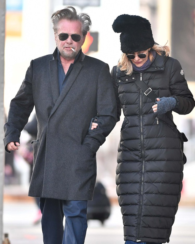 John Mellencamp y Meg Ryan iniciaron su relación en el 2010 (The Grosby Group)