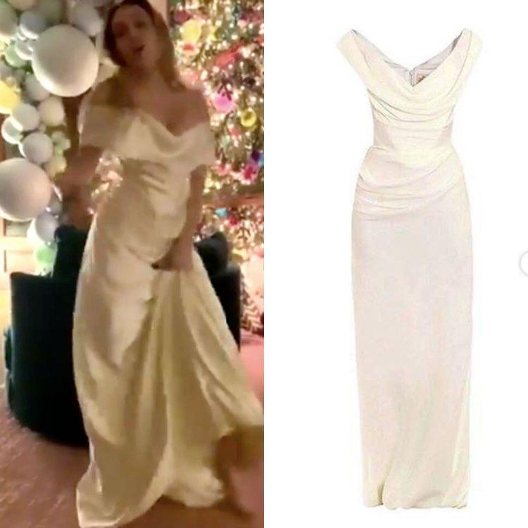 El vestido de novia costó USD 8.600 (Foto: Twitter mileycyrus, instagram styleofcyrus)