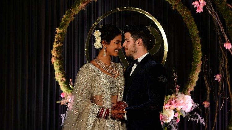 Casamiento Nick Jonas y Priyanka Chopra (AFP)