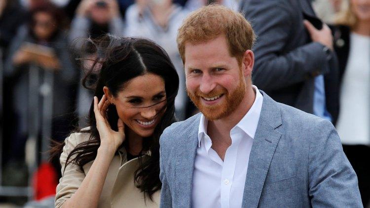 El príncipe Harry y Meghan Markle en Melbourne (Reuters)