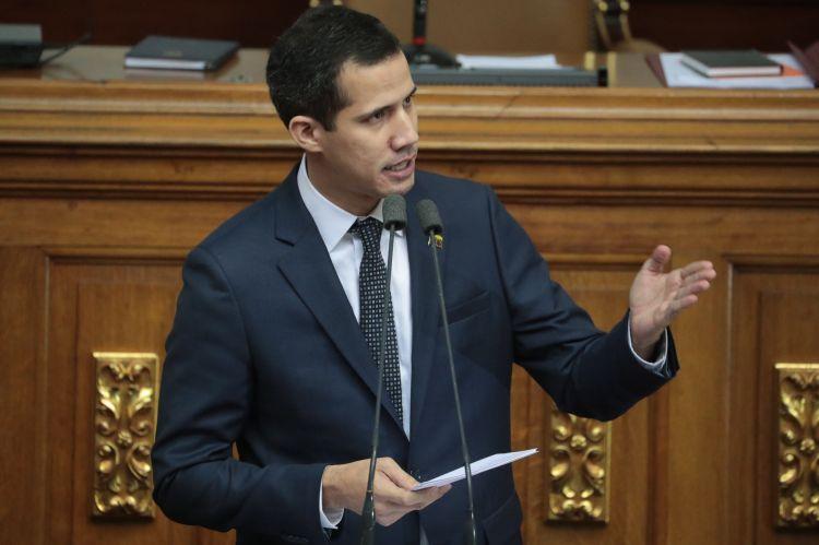 Juan Guaidó, presidente de la Asamblea Nacional de Venezuela (EFE/ Miguel Gutiérrez)