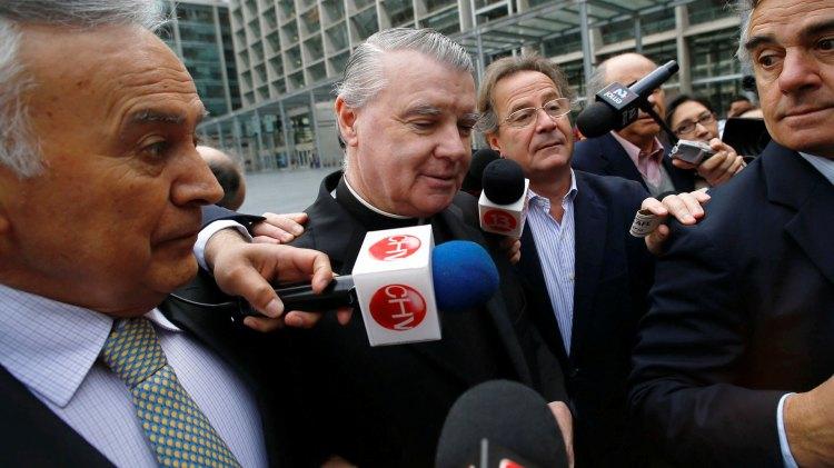 El sacerdote John O'Reilly en Chile, figura en un listado genético de pedófilos y abusadores y fue inhabilitado para desempeñarse en ámbitos educativos (Foto: Reuters)
