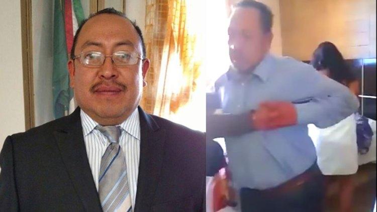 El alcalde no se ha pronunciado sobre el escándalo (Foto: Facebook cruz.juarez / YouTube)
