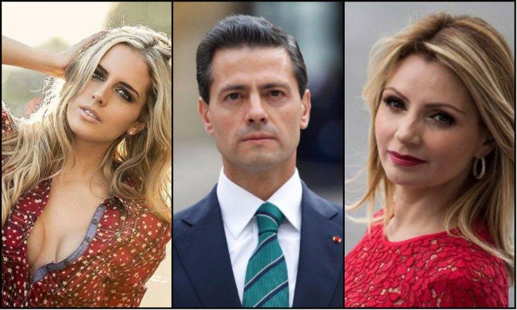 El escándalo por la separación de Peña Nieto y Angélica Rivera involucró a una modelo mexicana (Foto: Instagram @taniaruize/archivo)