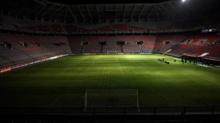 Un apagón ya perjudicó a Deportivo Lara en su partido de Copa Libertadores ante Emelec (AFP)