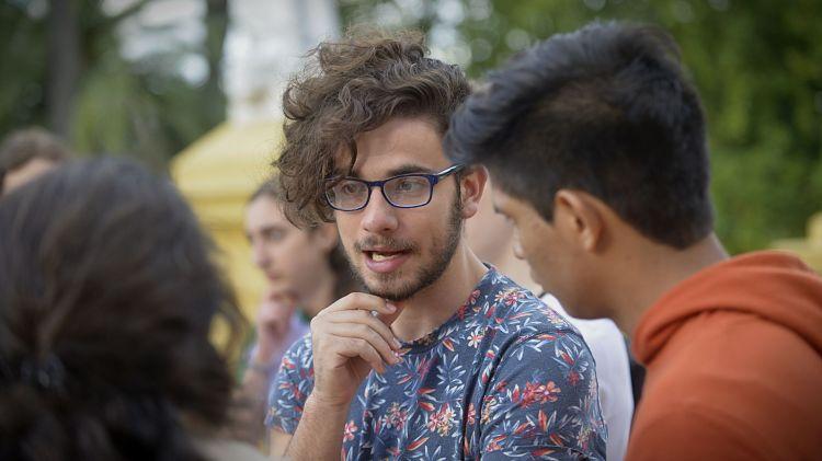 La inclusión de los jóvenes en las áreas productivas es una de las demandas generalizadas (Foto: Gustavo Gavotti)