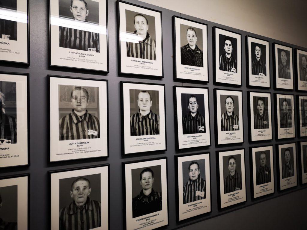 Corridoio dei ritratti, Auschwitz 1
