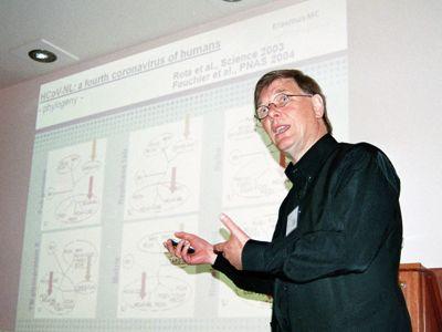 El profesor Albert Osterhaus