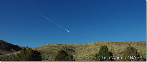 meteorito california