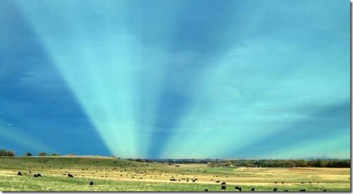 rayos anticrepusculares