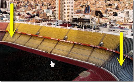 """Noticia: Resuelto el caso del """"fantasma"""" en el estadio de fútbol Hernando Siles 1"""