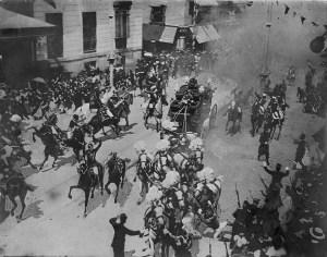 Ataque de Mateu Morral contra Alfonso XIII.