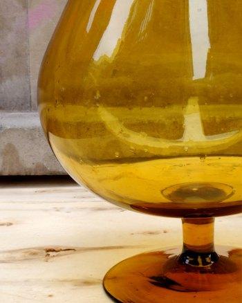 Copa de Brandy 70's gigante para caramelos
