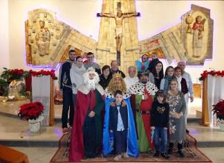 Visita de los Magos de Oriente a la Mercè