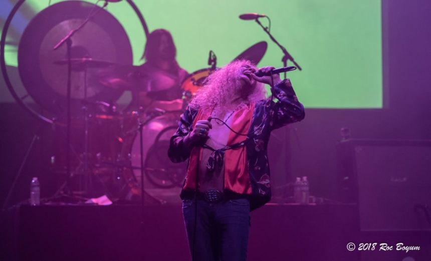 Swan Montgomery Robert Plant Led Zeppelin The Wiltern Theater Concert Reviews