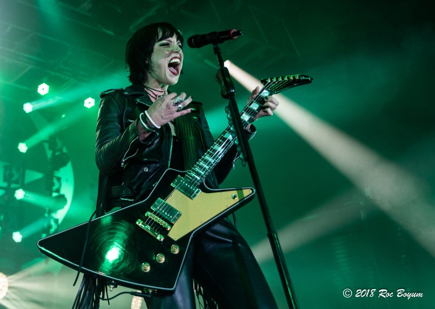 Halestorm Funner Ca Concert Photography Concert Reviews