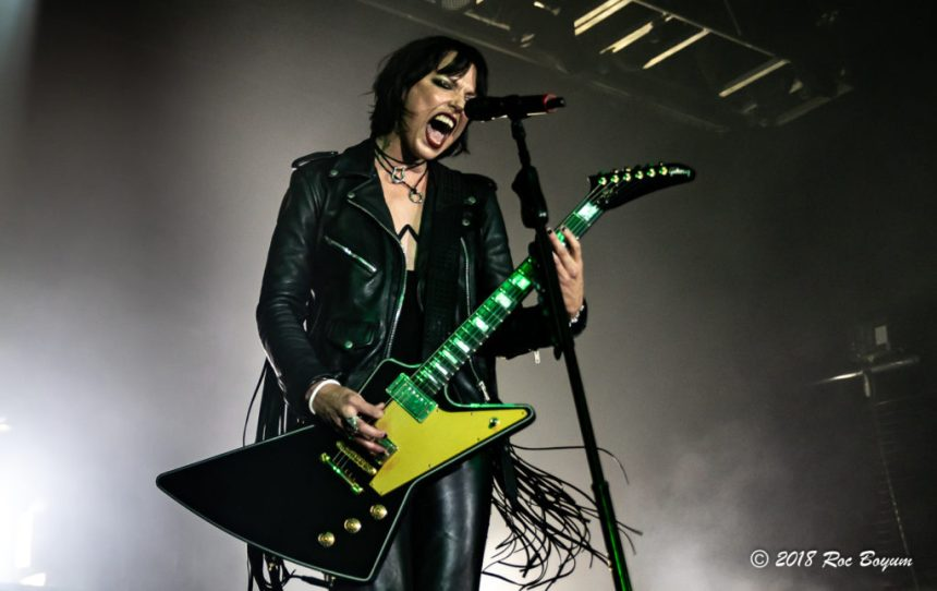 Halestorm Lzzy Hale Concert Photography Concert Reviews