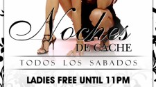 Noches De Cache Saturdays At Cachet Bar & Grill