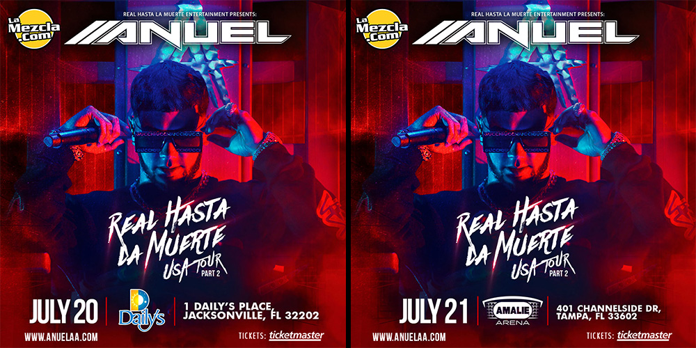 Enter To Win Tickets For Anuel Aa In Jacksonville And Tampa Fl Lamezcla Com