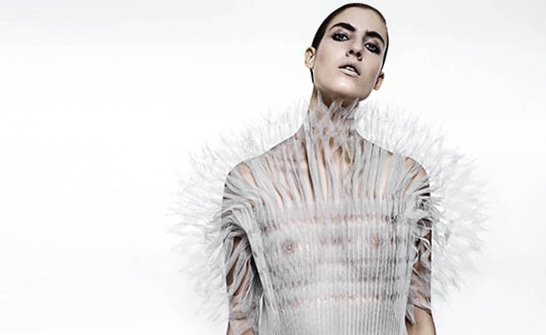 Origami-La camicia bianca secondo Ferré