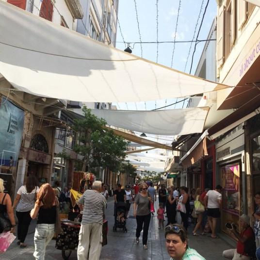 Chios, le vie dello shopping