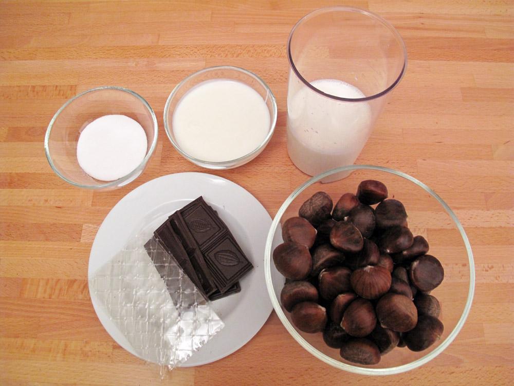 Budino di cioccolato fondente